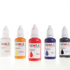 Pigments for Photoactive resins, opaque
