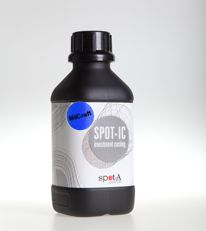 Spot-IC - Castable resin adapted to MiiCraft 3D printers